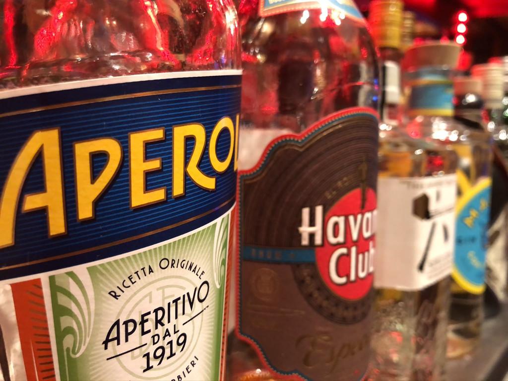 Flasche Aperol